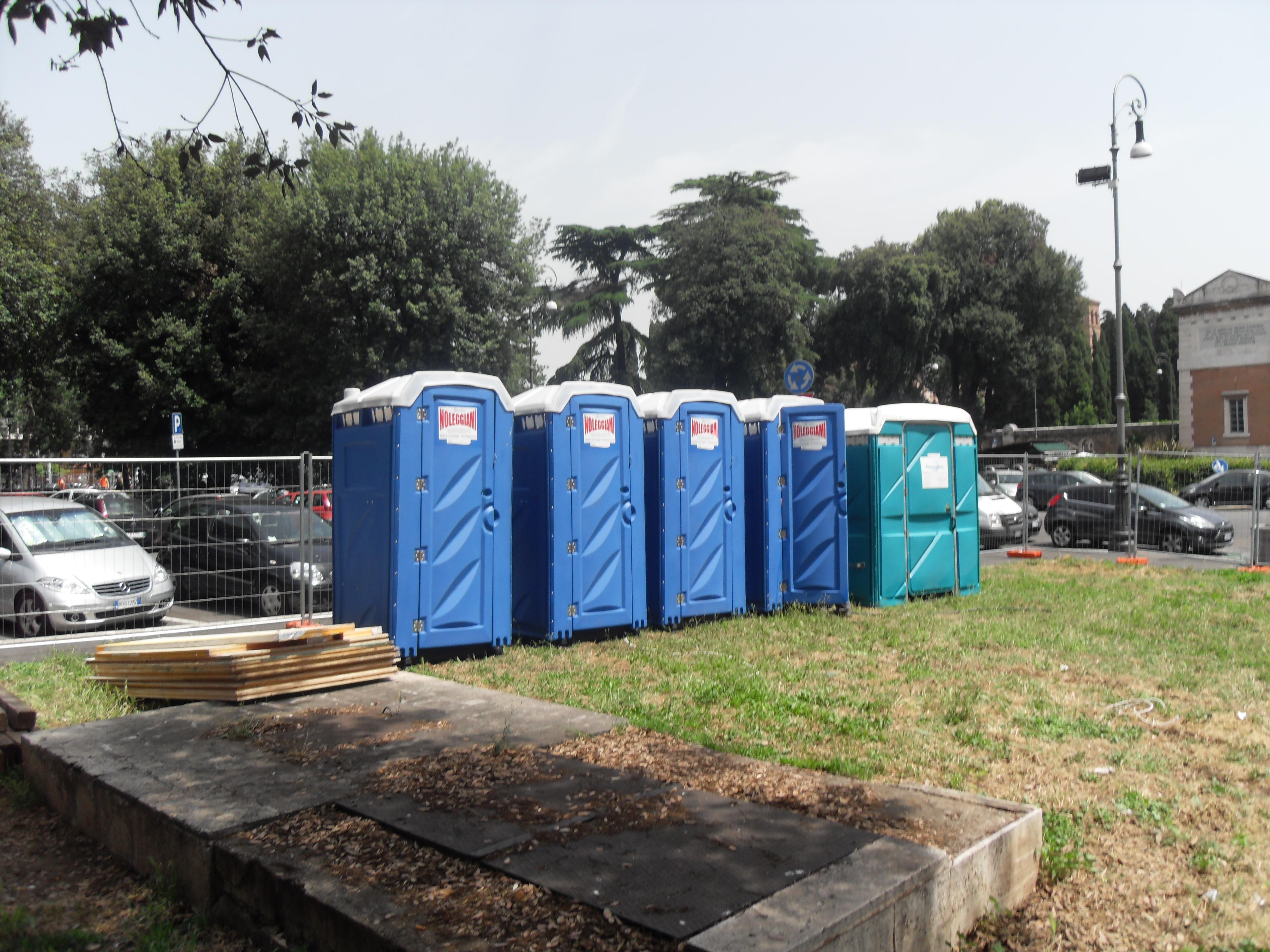 NOLEGGIO BAGNI CHIMICI ROMA - NOLEGGIO BAGNI CHIMICI ROMA